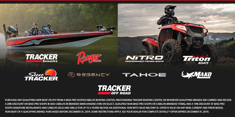 4tracker Boats Promotions | Foothills Marine | Morganton North Carolina